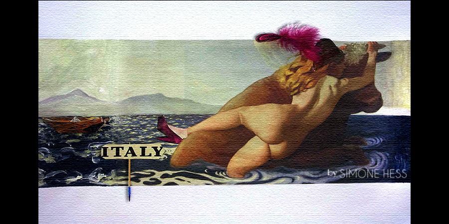 Go to Italy - Collage