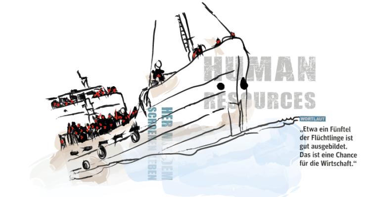 Ausschnitt Bild und Bibel - Schlepperboot