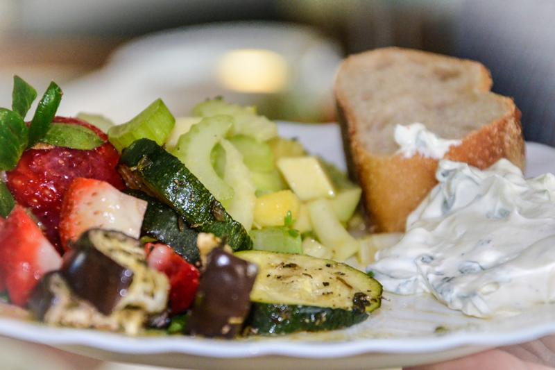 Gesundes Mittagessen - Salat